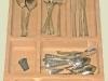Dreveny vklad - pribory